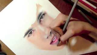 Drawing Taylor Lautner