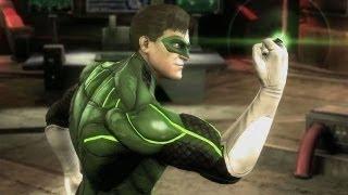 Injustice: Gods Among Us - Green Lantern vs. Solomon Grundy