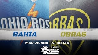 Liga Nacional: Bahía Basket vs. Obras | #LaLigaEnTyC