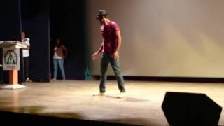 Break Dance By YUVAM GUPTA at ISBS College pune , Talent Show