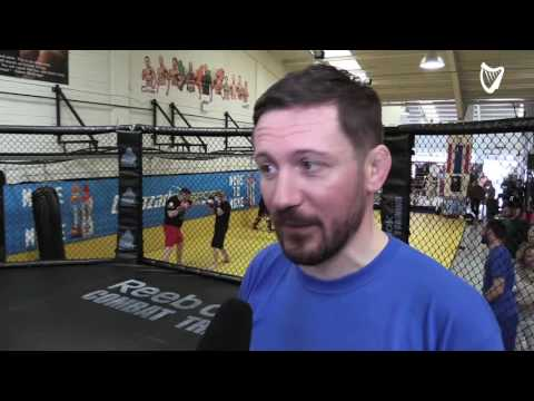VIDEO Behind the scenes training with Conor McGregor s coach John Kavanagh