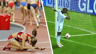 12 Athletes Who Celebrated Too Early