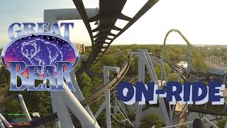 Great Bear On-ride Front Seat (HD POV) Hershey Park