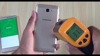 Samsung Galaxy J5 Prime Heating Test