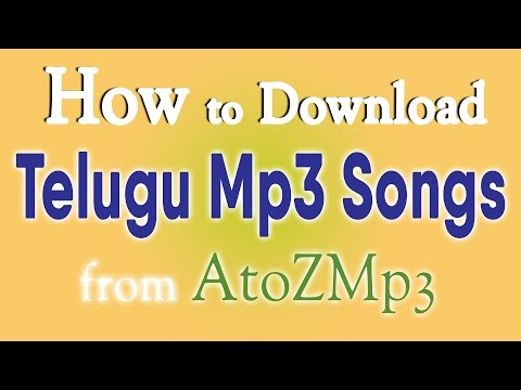 How to Download Telugu Mp3 Songs from Atozmp3