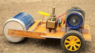 How to make a road Making Machine at Home - Road Roller