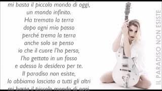 Emma - Il Paradiso Non Esiste - Lyric