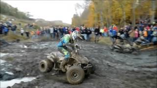 ATV Riders Crash into the Mud