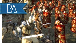 TEUTONIC ORDER VS ROMAN EMPIRE - Thera Total War Mod Gameplay