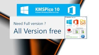 Window 10 activatior | KmSpico 10.2.0 | Permanently activate 10,8.1,8,7 MS office & More