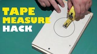Tape Measure Tricks Tool Hacks