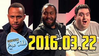 CPT SF5: Mike Ross ft. K-Brad, Floe 2016.03.22 [720p60] Capcom Pro Talk