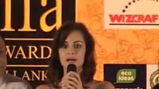 IIFA 2010 - Sangakkara hails Bollywood stars on behalf of Sri Lanka