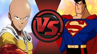ONE PUNCH MAN vs SUPERMAN! Cartoon Fight Club Episode 39