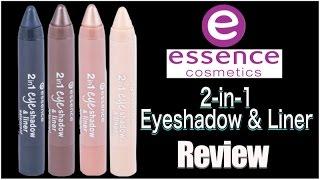 Essence 2-in-1 Eyeshadow & Liner Review