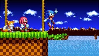 I think the Sonic Mania Victory poses are dangerous (Short Animation)