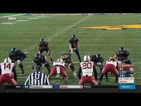 Oklahoma at West Virginia 2016 Big 12 Football Highlights