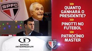 Quanto ganhará o Presidente? Pinotti no Futebol - Patrocínio Master - Layla Reis