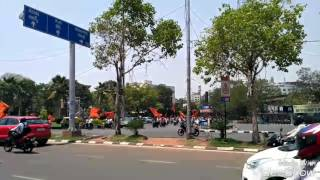 Old CITY area lo HANUMAN Shobha Yatra 2017