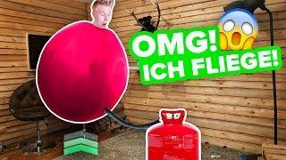Mit Helium FLIEGEN ! 😱 - Der Selbstversuch II RayFox