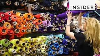 Step Inside NYC's Busiest Fabric Store