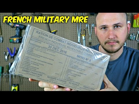 Testing French Military MRE Meal Ready to Eat