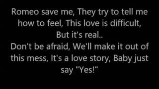 Love story , Taylor Swift Lyrics