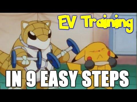 How to EV Train your Pokémon