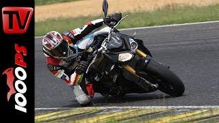 BMW S 1000 R   Naked Bike Test Rennstrecke