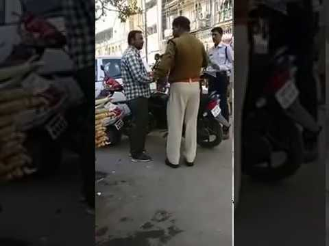 Indore Police Misbehaves with Public. . . .?
