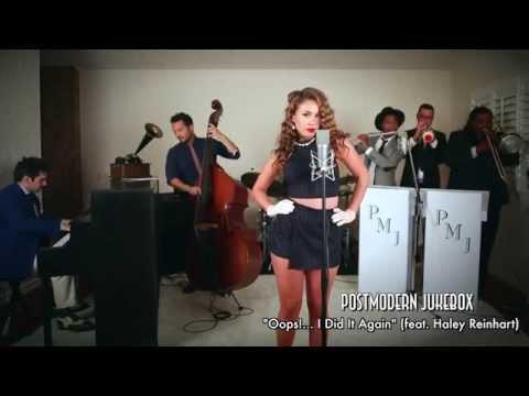Oops I Did It Again Vintage Marilyn Monroe Style Britney Spears Cover ft. Haley Reinhart