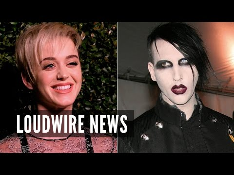 Pop Star Katy Perry Protested Marilyn Manson Concerts