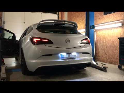 Underground Exhaust Opel Astra J OPC Stage 3 Sound - Klappenauspuff