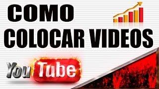 Como colocar vídeos no Youtube ( iniciantes )  // DICAS PARA YOUTUBERS //