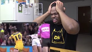 Top 5 KNOCK-OUTS In Rugby League REACTION!!!