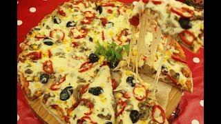 اروع 4 طرق لعمل البيتزا أفضل من المحلات بالجبنة المطاطية الشهية مع رباح محمد