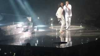 Drake & Rihanna - Take care + dance + Pour it up LIVE @ Paris bercy (25.02.2014)