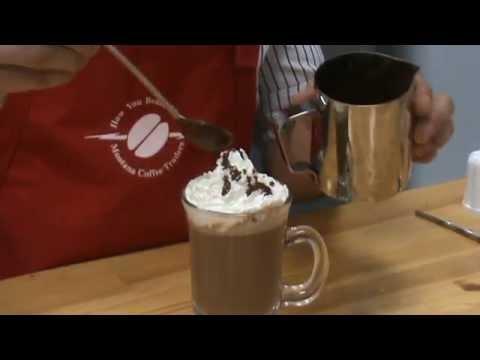 Как сделать мокачино в кофейне 386