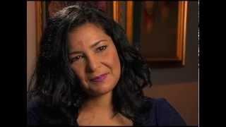 Patricia Solano entrevista  a Luchy Vicioso