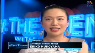 #theTrend: Anyango, the Japanese who can play Nyatiti, speak Swahili and Dholuo