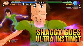 Shaggy Goes Ultra Instinct vs Gogetto SS4 Ultra Instinct | DBZ Tenkaichi 3 (MOD)