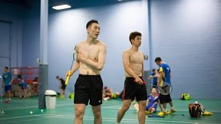 Nice Quality Badminton - Lee Yong Dae / Yoo Yeon Seong (KOR) vs Ko Sung Hyun / Shin Baek Cheol (KOR)