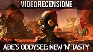 Abe's Oddysee: New 'n' Tasty - Video Recensione - Gameplay ITA HD