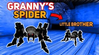 Granny's Pet Spider HAS A LITTLE BROTHER!!! | Granny The Mobile Horror Game (Mods)