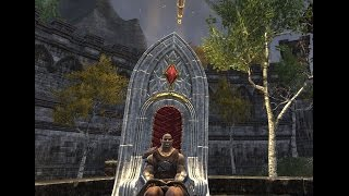 ESO Housing Achievement Preview [Ruby Throne and a Elder Scroll]