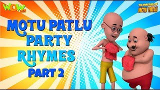 Clap your hands with Motu Patlu - 3 hours of Rhymes - Available Worldwide!