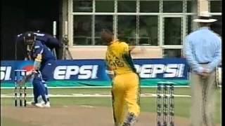 Brett Lee 160.1 YORKER best ball ever to Marvan Atapattu - retires from international cricket