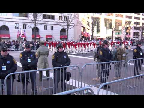 watch 2013 Inaugural Parade: The U.S. Army Band. Old Guard Fife & Drum, The U.S. Army Field Band
