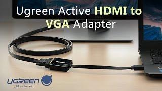 Ugreen active HDMI to VGA adapter user guide