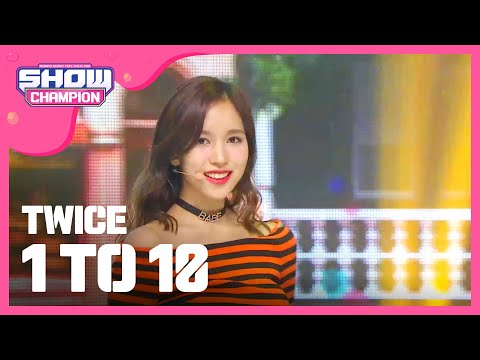 Show Champion EP.206 TWICE - 1 TO 10